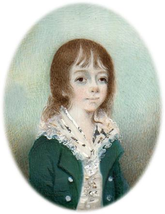 Richard as a young boy.
