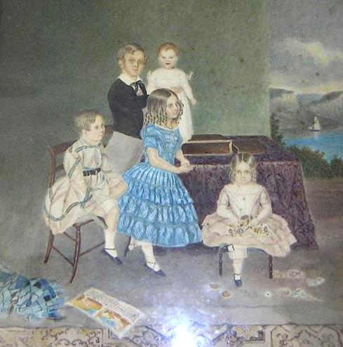 Some of Herbert's children
