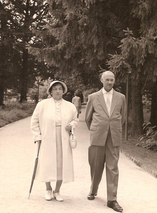 Walther and Maria in 1959